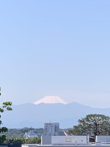 富士山からパワーをいただく!