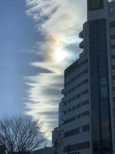 変わった雲を見ると思わず写真を撮ってしまう!