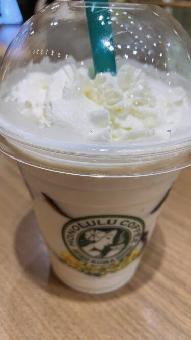 ココナッツミルクコーヒーゼリー!